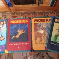Cómics: * MOEBIUS * COMPLETA 4 TOMOS * EDICIONES B 1994 * 1ª EDICIÓN CARTONE *. Lote 243639950