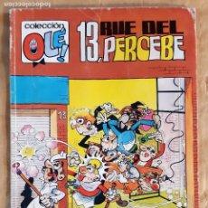 Cómics: COLECCIÓN OLÉ - EDICIONES B / NÚMERO 381 (13, RUE DEL PERCEBE). Lote 243777425