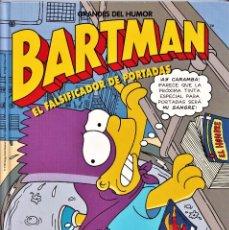 Cómics: EL FALSIFICADOR DE PORTADAS - BARTMAN - LOS SIMPSONS - GRANDES DEL HUMOR 14 - EDICIONES B 1997. Lote 243875420