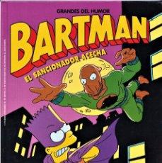 Cómics: EL SANCIONADOR ACECHA - BARTMAN - LOS SIMPSONS - GRANDES DEL HUMOR 15 - EDICIONES B 1997. Lote 243876425
