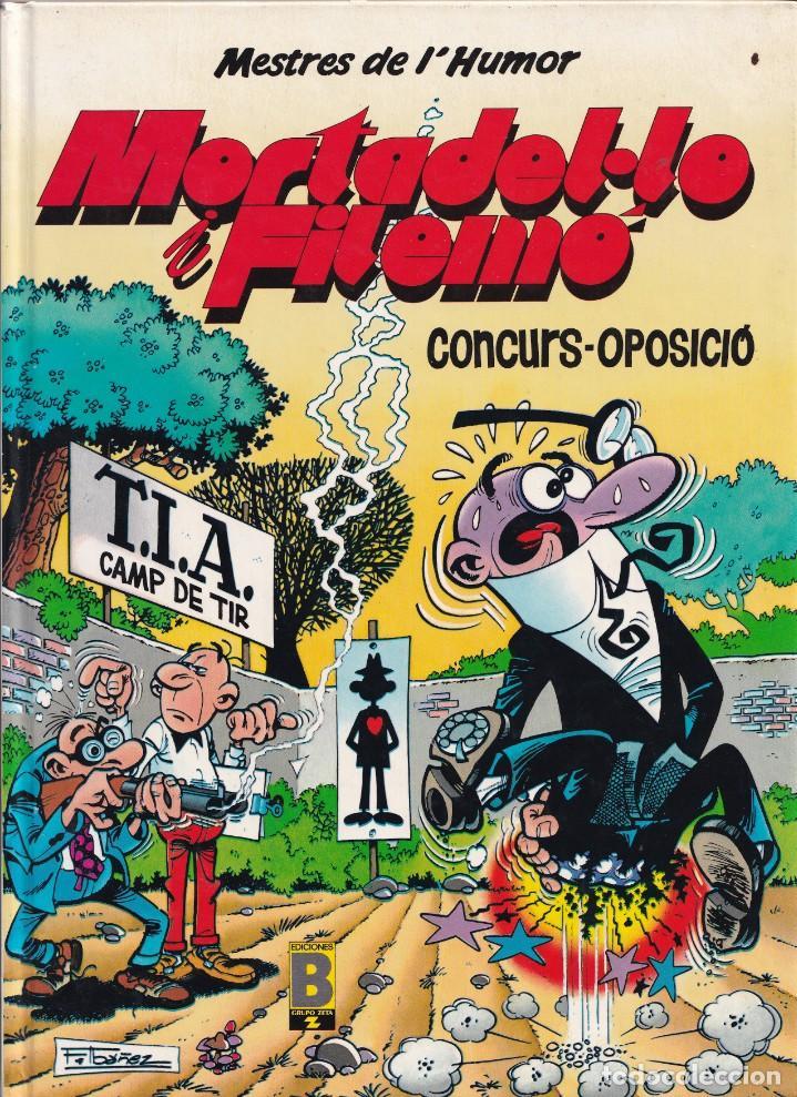 CONCURS OPOSICIÓ - MORTADELO Y FILEMÓN - MESTRES DEL HUMOR 9 - EDICIONES B (Tebeos y Comics - Ediciones B - Humor)
