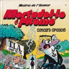 Cómics: CONCURS OPOSICIÓ - MORTADELO Y FILEMÓN - MESTRES DEL HUMOR 9 - EDICIONES B. Lote 243882145