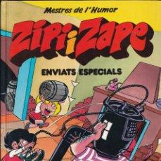 Cómics: ENVIATS ESPECIALS - ZIPI I ZAPE - MESTRES DEL HUMOR 12 - EDICIONES B 1990. Lote 243883920