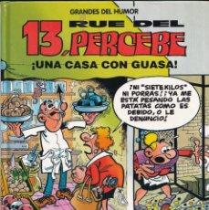 Cómics: UNA CASA CON GUASA - 13 RUE DEL PERCEBE - GRANDES DEL HUMOR 8 - EDICIONES B 1996. Lote 243885365