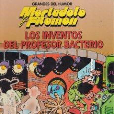 Cómics: LOS INVENTOS DEL PROFESOR BACTERIO - MORTADELO Y FILEMÓN - GRANDES DEL HUMOR 16 - EDICIONES B 1996. Lote 243887940