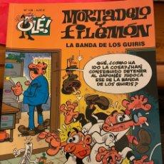 Cómics: MORTADELO Y FILEMÓN. OLE! NÚM 138. LA BANDA DE LOS GUIRIS. Lote 244449275