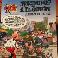 Cómics: MORTADELO Y FILEMÓN. OLE! NÚM 159. LLEGÓ EL EURO. Lote 244452190