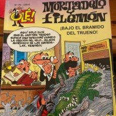 Cómics: MORTADELO Y FILEMÓN. OLE! NÚM 176. BAJO EL BRAMIDO DEL TRUENO!. Lote 244452710