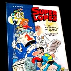 Cómics: CASI EXCELENTE ESTADO 1° PRIMERA EDICION SUPER LOPEZ 14 COMICS EDICIONES B. Lote 244481105