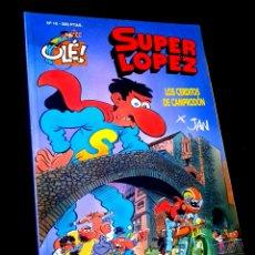 Cómics: CASI EXCELENTE ESTADO 1° PRIMERA EDICION SUPER LOPEZ 16 COMICS EDICIONES B. Lote 244482005