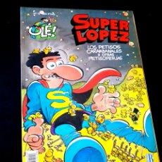 Cómics: CASI EXCELENTE ESTADO 1° PRIMERA EDICION SUPER LOPEZ 15 COMICS EDICIONES B. Lote 244482175