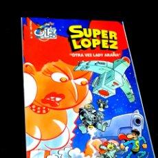 Cómics: CASI EXCELENTE ESTADO 1° PRIMERA EDICION SUPER LOPEZ 34 COMICS EDICIONES B. Lote 244492015