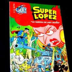 Cómics: CASI EXCELENTE ESTADO 1° PRIMERA EDICION SUPER LOPEZ 35 COMICS EDICIONES B. Lote 244492235