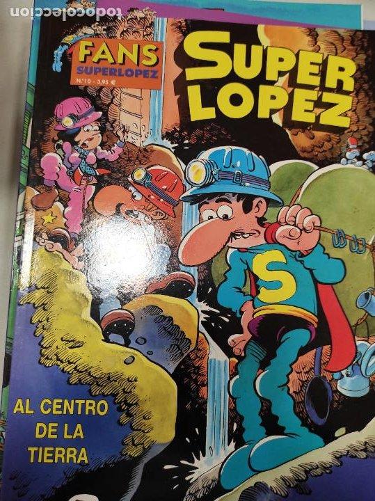 SUPER LOPEZ Nº 10 - AL CENTRO DE LA TIERRA (Tebeos y Comics - Ediciones B - Clásicos Españoles)