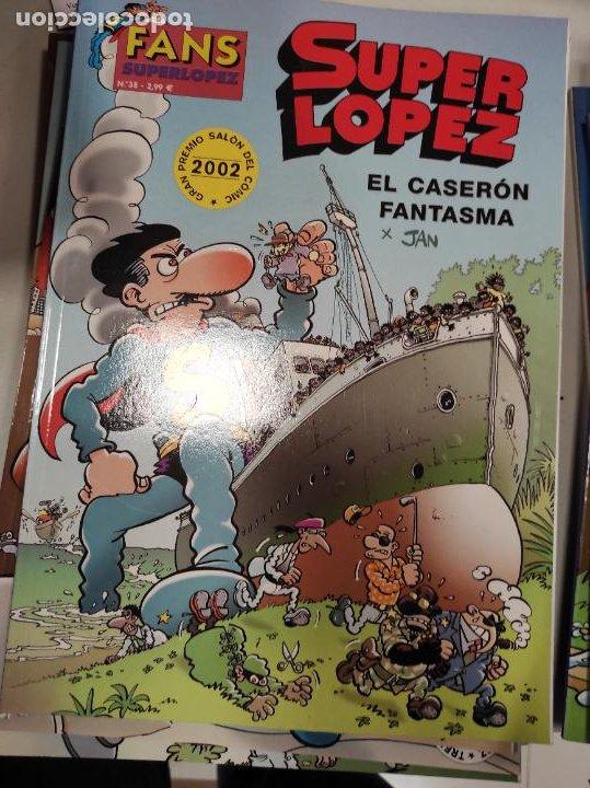 SUPER LÓPEZ- EL CASERÓN FANTASMA (Tebeos y Comics - Ediciones B - Clásicos Españoles)