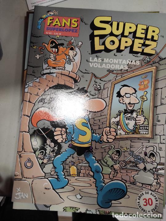 SUPER LOPEZ Nº 43 LAS MONTAÑAS VOLADORAS - (Tebeos y Comics - Ediciones B - Clásicos Españoles)
