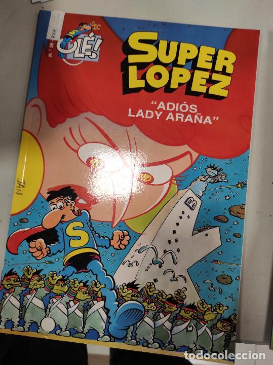 SUPER LÓPEZ. ADIOS LADY ARAÑA . Nº 36 (Tebeos y Comics - Ediciones B - Clásicos Españoles)