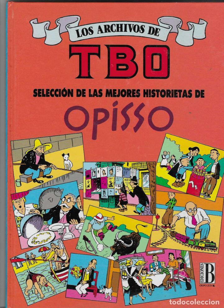 LOS ARCHIVOS DEL TBO -- Nº 8 MEJORES HISTORIETAS DE OPISSO (Tebeos y Comics - Ediciones B - Clásicos Españoles)