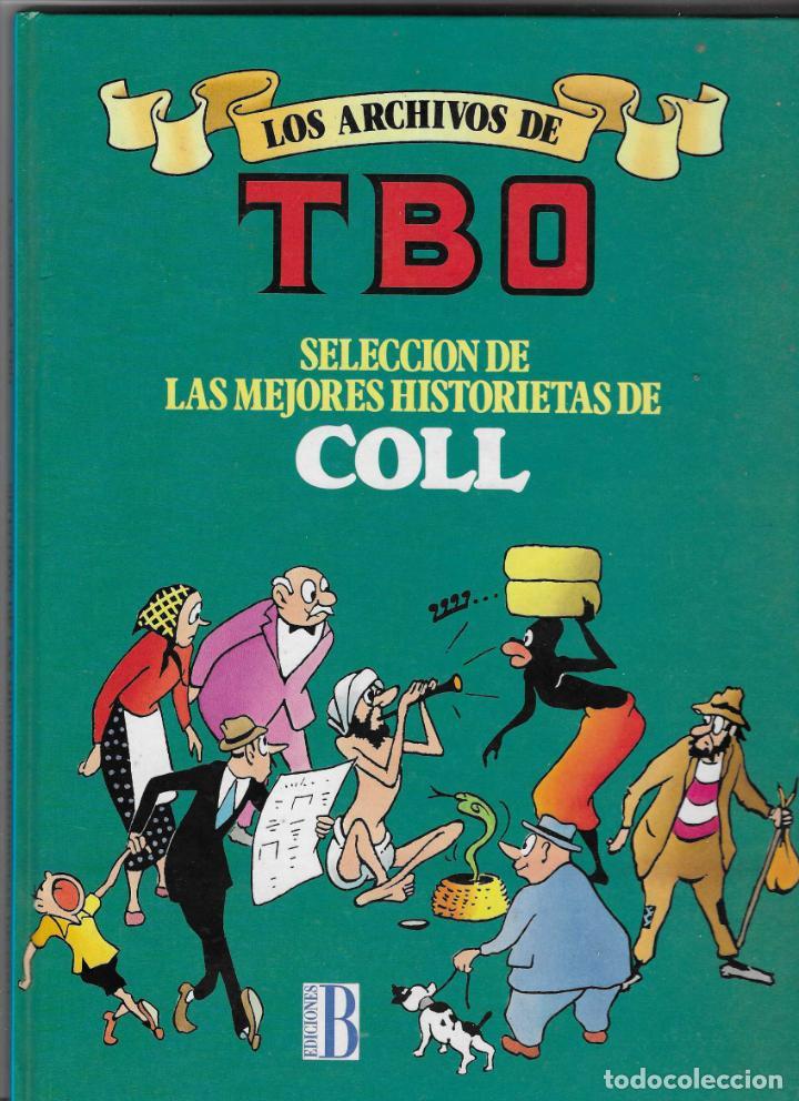 LOS ARCHIVOS DEL TBO -- Nº 7 MEJORES HISTORIETAS DE COLL (Tebeos y Comics - Ediciones B - Clásicos Españoles)