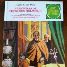 Comics : ARHTUR CONAN DOYLE. AVENTURAS DE SHERLOCK HOLMES I Y II. EL PERRO DE LOS BASKERVILLE.. Lote 244721620