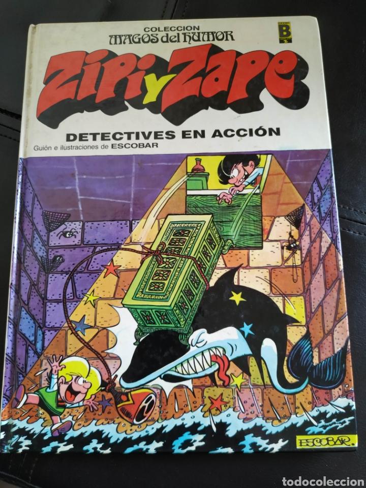 LIBRO CÓMIC ZIPI Y ZAPE DETECTIVES DE ACCIÓN MAGOS DEL HUMOR EDICIONES B VOLUMEN 16 (Tebeos y Comics - Ediciones B - Otros)
