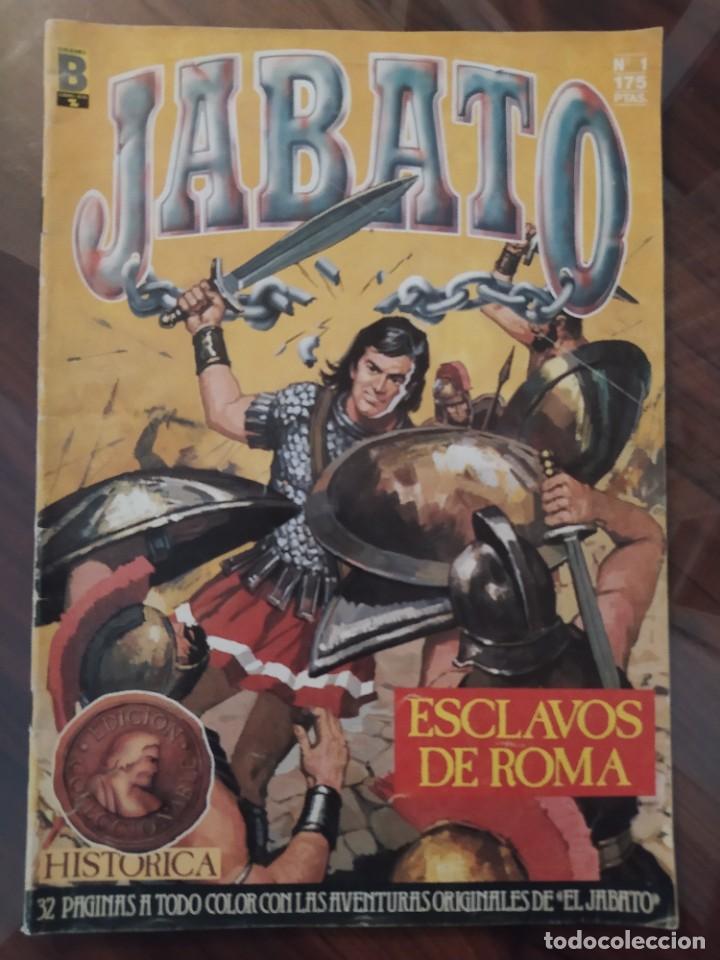 JABATO - ESCLAVOS DE ROMA - NÚMERO 1 - EDICIONES B - EDICIÓN COLECCIONABLE - COL. SUPER AVENTURAS (Tebeos y Comics - Ediciones B - Otros)