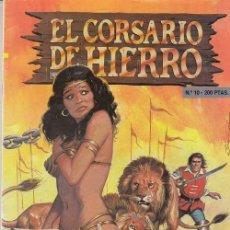 Comics : EL CORSARIO DE HIERRO - Nº 10 - EDICIONES B EDICION HISTORICA - EL CIRCO BAMBADABUM. Lote 245259045