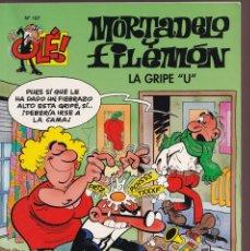 Cómics: LA GRIPE U- MORTADELO Y FILEMÓN - COLECCIÓN OLÉ Nº 187- EDICIONES B 2010. Lote 245371205