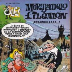 Cómics: ¡PESADILLAAA! - MORTADELO Y FILEMÓN - COLECCIÓN OLÉ ( RELIEVE ) Nº 124 - EDICIONES B 1996. Lote 245427380