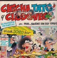 Cómics: PERO QUIENES SON ESOS TIPOS - CHICHA TATO Y CLODOVEO 2 - EDICIONES JUNIOR 1986. Lote 245432280