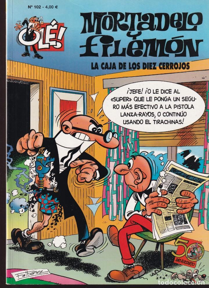 LA CAJA DE LOS DIEZ CERROJOS - MORTADELO Y FILEMÓN - COLECCIÓN OLÉ Nº 102 - EDICIONES B 2009 (Tebeos y Comics - Ediciones B - Humor)