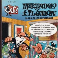 Cómics: LA CAJA DE LOS DIEZ CERROJOS - MORTADELO Y FILEMÓN - COLECCIÓN OLÉ Nº 102 - EDICIONES B 2009. Lote 245448775