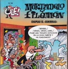 Cómics: CHAPEAU EL ESMIRRIAU - MORTADELO Y FILEMÓN - COLECCIÓN OLÉ ( RELIEVE ) Nº 99- EDICIONES B 1995. Lote 245449425
