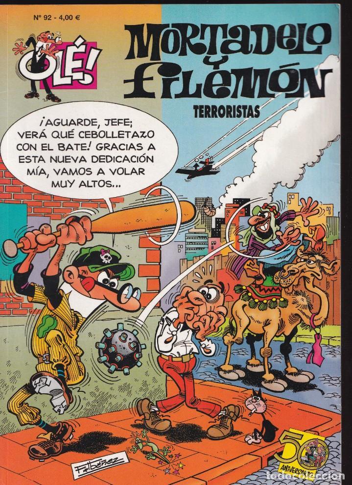 TERRORISTAS - MORTADELO Y FILEMÓN - COLECCIÓN OLÉ Nº 92 - EDICIONES B 2008 (Tebeos y Comics - Ediciones B - Humor)