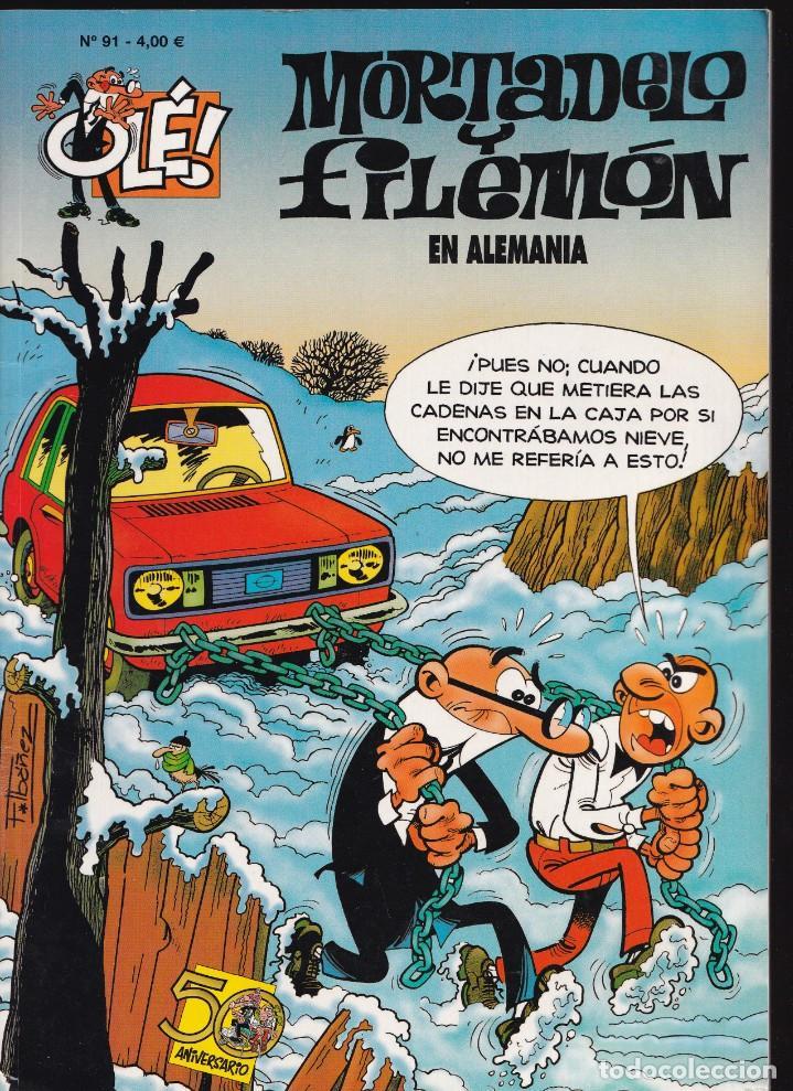 EN ALEMANIA - MORTADELO Y FILEMÓN - COLECCIÓN OLÉ Nº 91 - EDICIONES B 2008 (Tebeos y Comics - Ediciones B - Humor)