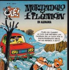 Cómics: EN ALEMANIA - MORTADELO Y FILEMÓN - COLECCIÓN OLÉ Nº 91 - EDICIONES B 2008. Lote 245459865