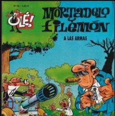 Cómics: A LAS ARMAS - MORTADELO Y FILEMÓN - COLECCIÓN OLÉ Nº 86 - EDICIONES B 2008. Lote 245460030