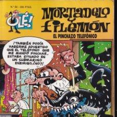 Cómics: EL PINCHAZO TELEFÓNICO - MORTADELO Y FILEMÓN - COLECCIÓN OLÉ - RELIEVE - Nº 82- EDICIONES B 1998. Lote 245460380