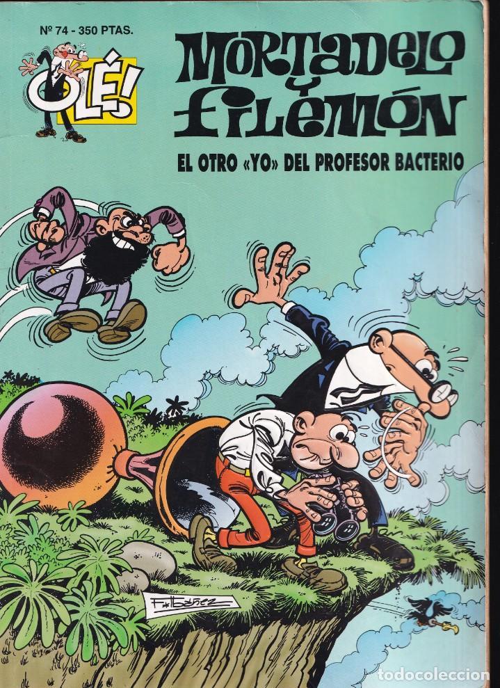 OTRO YO PROFESOR BACTERIO - MORTADELO Y FILEMÓN - COLECCIÓN OLÉ - RELIEVE - Nº 74 EDICIONES B 1994 (Tebeos y Comics - Ediciones B - Humor)