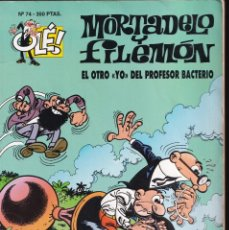 Cómics: OTRO YO PROFESOR BACTERIO - MORTADELO Y FILEMÓN - COLECCIÓN OLÉ - RELIEVE - Nº 74 EDICIONES B 1994. Lote 245463080