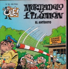 Cómics: EL ANTIDOTO - MORTADELO Y FILEMÓN - COLECCIÓN OLÉ- RELIEVE - Nº 68 EDICIONES B 1997. Lote 245464000