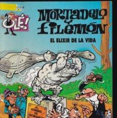 Cómics: EL ELIXIR DE LA VIDA - MORTADELO Y FILEMÓN - COLECCIÓN OLÉ - Nº 67 EDICIONES B 2007. Lote 245464290