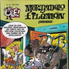 Cómics: SOBORNO - MORTADELO Y FILEMÓN - COLECCIÓN OLÉ - RELIEVE - Nº 45 EDICIONES B 1996. Lote 245466060