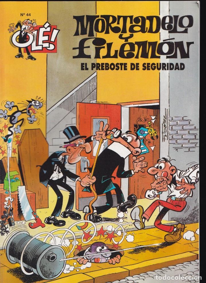 EL PREBOSTE DE SEGURIDAD - MORTADELO Y FILEMÓN - COLECCIÓN OLÉ- Nº 44 EDICIONES B 2005 (Tebeos y Comics - Ediciones B - Humor)