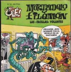 Cómics: LAS TACILLAS VOLANTES - MORTADELO Y FILEMÓN - COLECCIÓN OLÉ- RELIEVE - Nº 43 EDICIONES B 1996. Lote 245466865