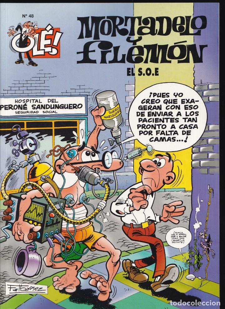 EL S.O.E. - MORTADELO Y FILEMÓN - COLECCIÓN OLÉ- Nº 48 EDICIONES B 2007 (Tebeos y Comics - Ediciones B - Humor)