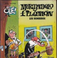 Cómics: LOS BOMBEROS - MORTADELO Y FILEMÓN - COLECCIÓN OLÉ - RELIEVE - Nº 53 EDICIONES B 1997. Lote 245469810