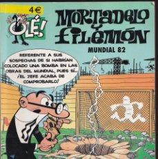 Cómics: MUNDIAL 82 - MORTADELO Y FILEMÓN - COLECCIÓN OLÉ - Nº 62 EDICIONES B 2007. Lote 245626455