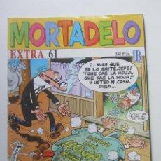 Comics: MORTADELO - EXTRA - Nº 61 - EDICIONES B MUCHOS EN VENTA MIRA TUS FALTAS E8X3. Lote 245643830
