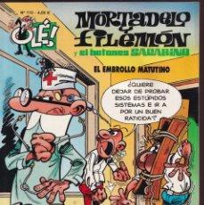 Cómics: EMBROLLO MATUTINO - MORTADELO Y FILEMÓN - COLECCIÓN OLÉ Nº 110- EDICIONES B 2011. Lote 245963250